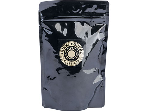 Guns & Coffee � Fully Loaded 100% Arabica Premium Coffee (Roast: 1/4lb Sample Bag +Free G&C Patch!)