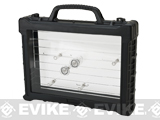 WE-Tech Ultimate Pistol Case with Internal LED Illumination