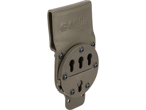 G-Code RTI Optimal Drop Pistol Belt Platform (Color: Green)