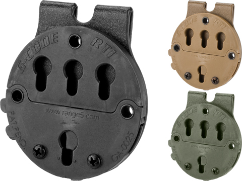 G-Code RTI Battle Belt MOLLE Holster Adaptor