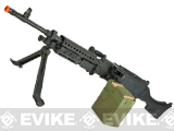 Matrix Full Metal M240B Airsoft AEG Sqaud Automatic Weapon w/ Box Magazine