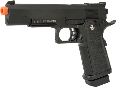 JG Heavyweight Hi-Capa Full Size Airsoft Spring Pistol w/ Metal Slide