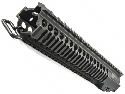 Geissele Super Modular Rail MK7 Quad Rail National Match Handguard (Color: Black / 12.7)