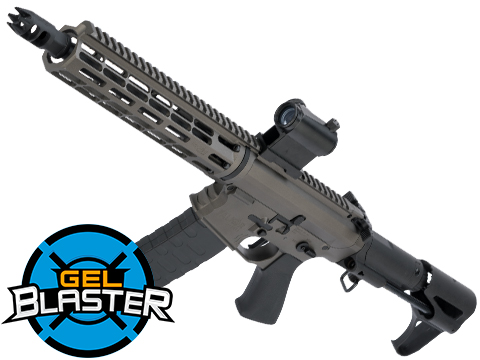 Gel Blaster Semi Automatic Airsoft 7.5mm Water Gel Ball Rifle (Model: Falkor Defense Blitz Compact 2.0 / Grey)
