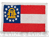 Evike.com Tactical Embroidered U.S. State Flag Patch (State: Georgia The Golden State)