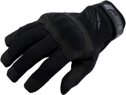 Armored Claw Shield Flex Hot Weather Tactical Glove (Color: Black / Large)