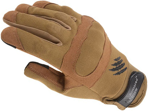 Armored Claw Shield Flex Tactical Glove (Color: Tan / Small)