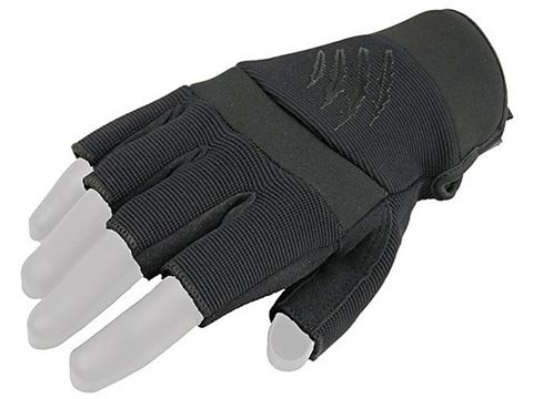Armored Claw Shooter Cut Tactical Gloves (Color: Black / Small)