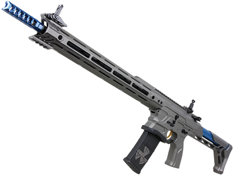 G&G Cobalt Kinetics Licensed BAMF TEAM AR15 Airsoft AEG Training Rifle w/ G2 Gearbox (Color: Gray)