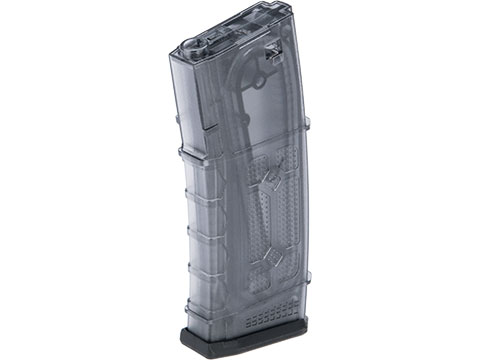 G&G Polymer 105rd Mid-Cap Magazine for M4 / M16 Series Airsoft AEG Rifles (Color: Translucent / Single Magazine)