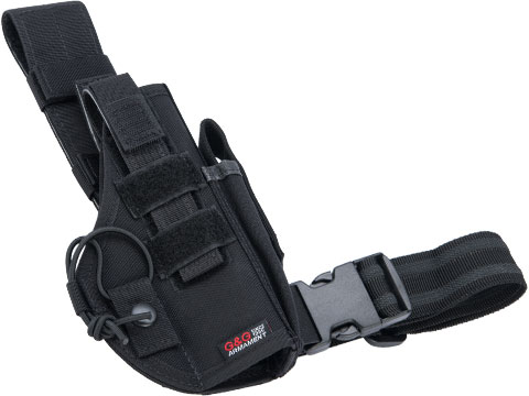 G&G Tactical Thigh / Drop Leg Holster (Color: Black)