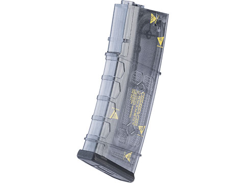 G&G Polymer 150rd Mid-Cap Magazine for M4 / M16 Series Airsoft AEG Rifles (Color: Translucent / Counting Marks)