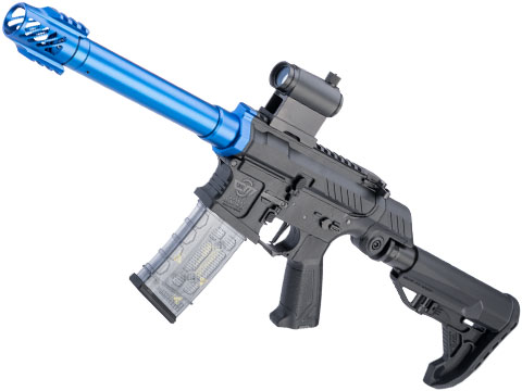 G&G SSG-1 USR Airsoft AEG Rifle w/ Variable Angle Stock and ETU MOSFET (Color: Blue)
