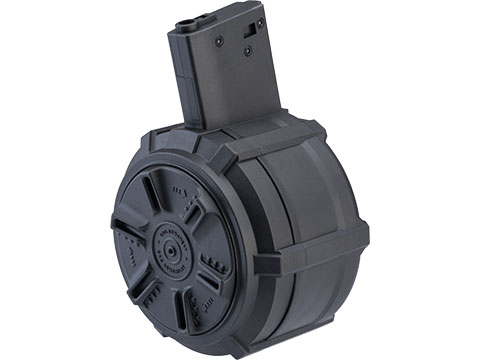 G&G 2300rd Polymer Drum Magazine for M4/M16 Series Airsoft AEG Rifles