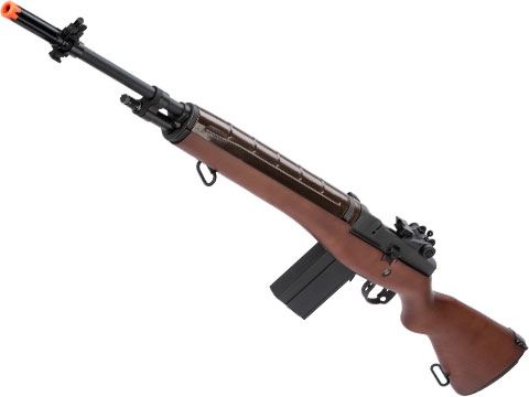 G&G Top Tech M14 w/ Imitation Wood Stock Airsoft AEG Rifle