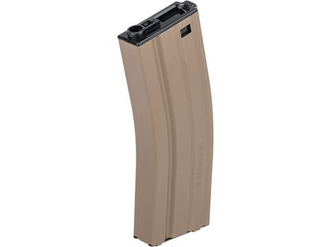 G&G Metal 450rd Hi-Cap Magazine for M4/M16 Series Airsoft AEG Rifles (Color: Desert Tan)