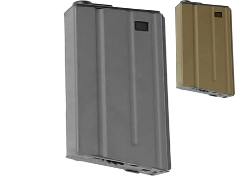 G&G Metal 190rd VN-Style Hi-Cap Magazine for M4/M16 Series Airsoft AEG Rifles