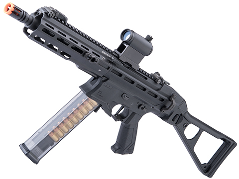 G&G PCC45 Airsoft Electric SMG (Color: Black)