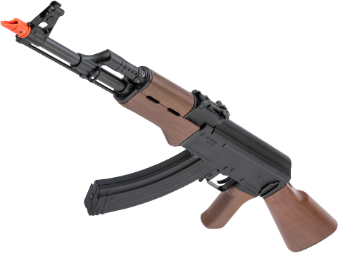 G&G Combat Machine Full Size AK47 RK47 Airsoft AEG Rifle w/ Imitation Wood