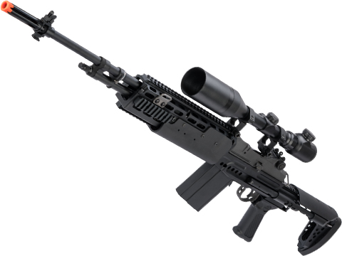 G&G Top Tech M14 HBA Full Metal Full Size Airsoft AEG Rifle -