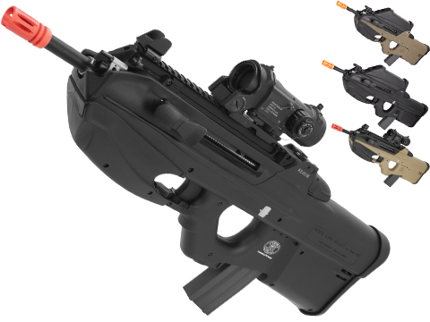 G&G FN Herstal Licensed FN2000 Airsoft AEG Rifle (Package: Black / Tactical Short/ Gun Only)