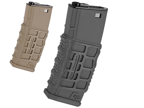 G&G Polymer 330rd G26 Type Hi-Cap Magazine for M4 / M16 Series Airsoft AEG Rifles (Color: Black)