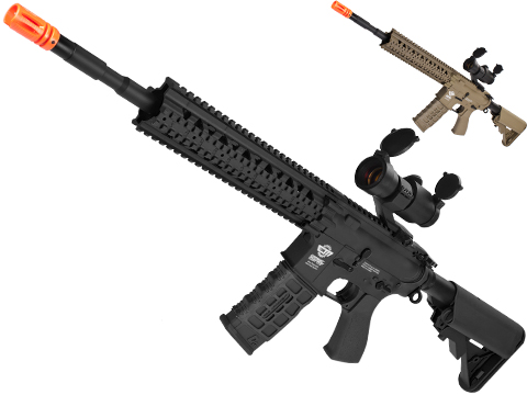 G&G CM16 R8-L Airsoft AEG Rifle Combo Package w/ Scope
