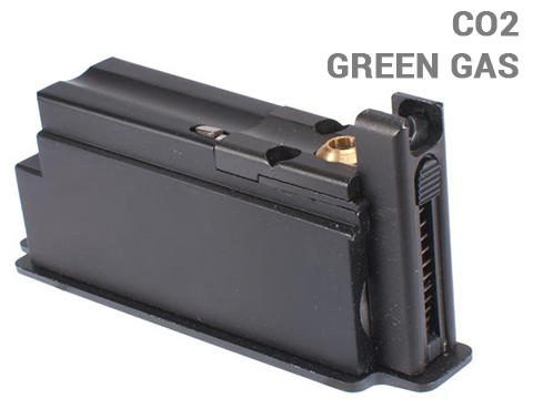 G&G 9RD Magazine for G980 KAR 98K CO2 Gas Rifle (Type: Green Gas)