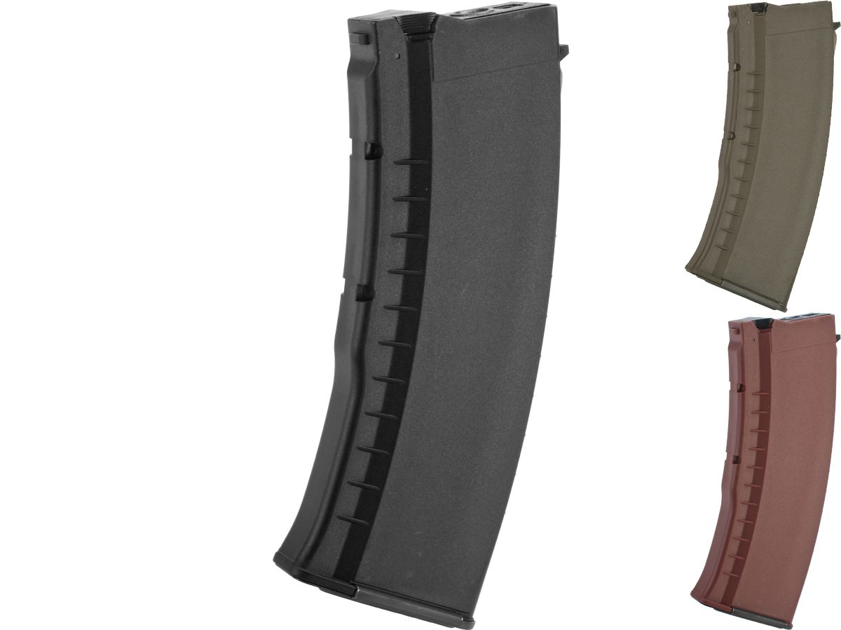 G&G 120rd Polymer Magazine for AK74 / AK47 Series Airsoft AEG Rifles (Color: Black)