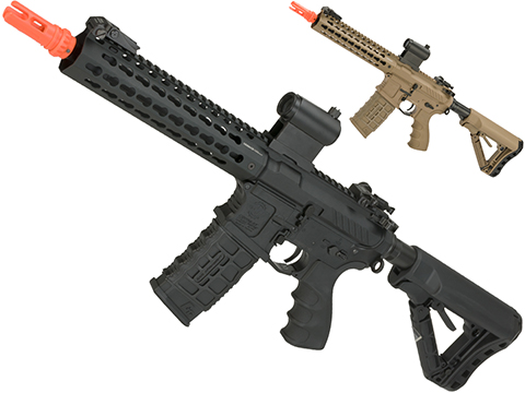 G&G Combat Machine CM16 SRL Airsoft M4 AEG Rifle with Keymod Rail (Package: Black / Gun Only)