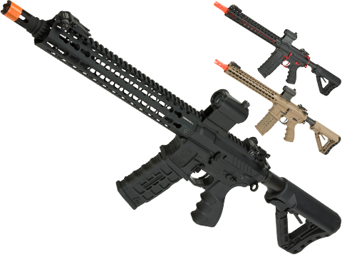 G&G Combat Machine CM16 SRXL Airsoft M4 AEG Rifle with Keymod Rail - 12
