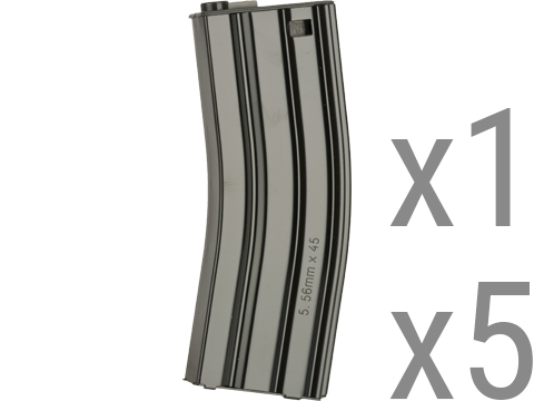 G&G Metal 79rd Mid-Cap Magazines for M4/M16 Series Airsoft AEG Rifles