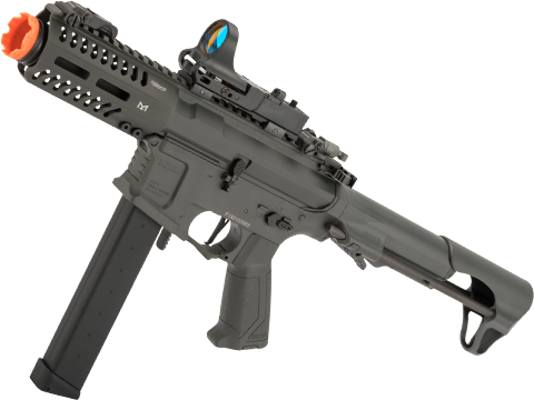 G&G CM16 ARP9 CQB Carbine Airsoft AEG (Package: Battleship Grey / Gun + LiPo Battery and Charger)