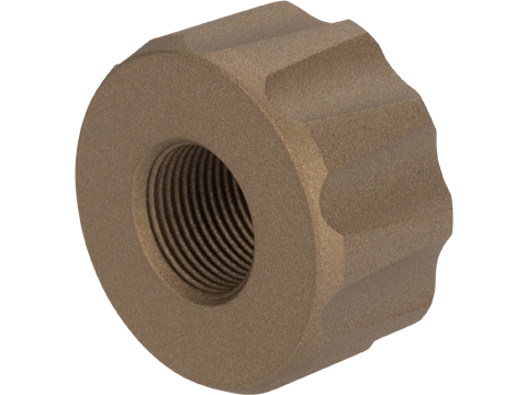 12mm to 14mm Thread Adapter for Battle Owl Tracer Unit (Color: Tan)