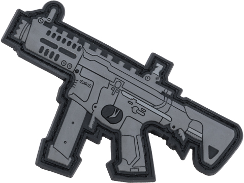 G&G PVC IFF Hook and Loop ARP 9 Patch (Color: Black)