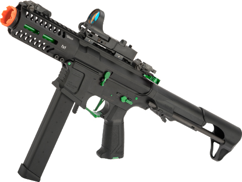 G&G CM16 ARP9 CQB Carbine Airsoft AEG (Package: Black - Jade / Gun Only)