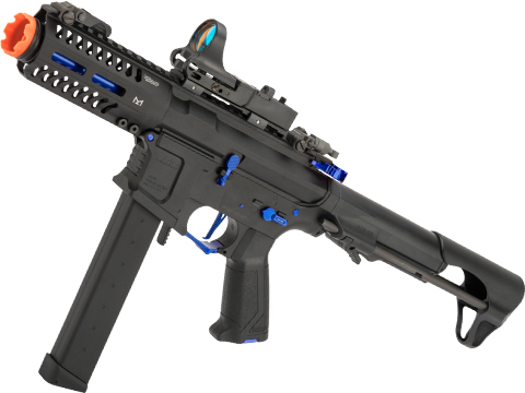 G&G CM16 ARP9 CQB Carbine Airsoft AEG (Package: Black - Sky / Gun Only)