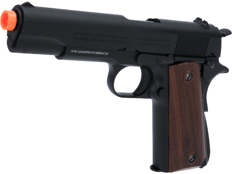 G&G GPM1911 Gas Blowback Airsoft Pistol (Color: Black)