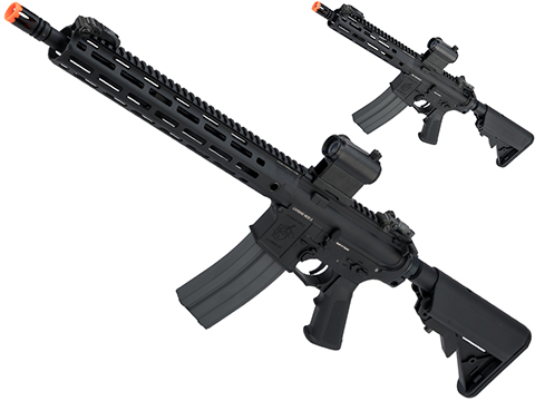 G&G Knight's Armament Licensed SR15 Airsoft AEG Rifle w/ M-LOK Handguard and G2 Gearbox
