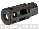 PTS GoGun SuperComp Rifle Brake Airsoft Flash Hider - 14mm Negative