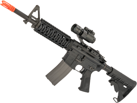 GHK M4 V2 RIS Full Metal Airsoft Gas Blowback GBB Rifle (Length: 12.5)