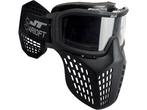 JT Delta 3 Airsoft Goggle (Color: Black)