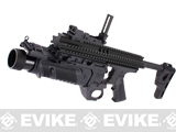 Matrix EGLM Airsoft Grenade Launcher with RIS Kit - Black