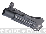 G&P Military Type M203 Grenade Launcher for M4 Series Airsoft Rifles (Color: Black / Short)