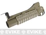 G&P Military Type M203 Grenade Launcher for M4 Series Airsoft Rifles - Short / Dark Earth