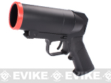 S-Thunder Universal Airsoft 40mm Grenade Launcher Pistol - Short Barrel