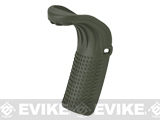 Guarder Beaver Tail Grip Extension for WE / TM / KJW G-Series Gen 4 Airsoft GBB Pistols - OD Green