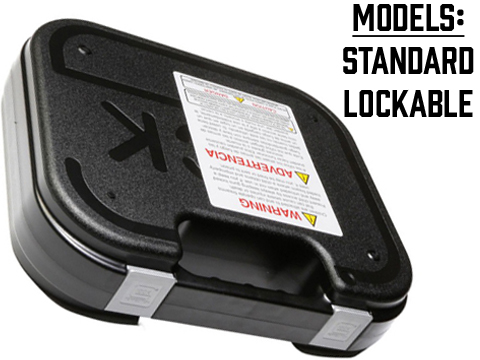 GLOCK OEM Hard Pistol Case w/ Foam (Model: Standard)