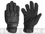 Matrix Full Finger Tactical Gloves (Color: Black / Medium)