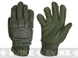 Matrix Full Finger Tactical Gloves (Color: OD Green / Large)